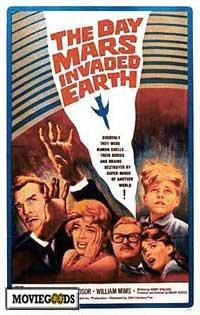 The Day Mars Invaded Earth - 43 x 62 Movie Poster - Bus Shelter Style A
