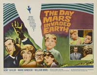 The Day Mars Invaded Earth - 30 x 40 Movie Poster UK - Style A