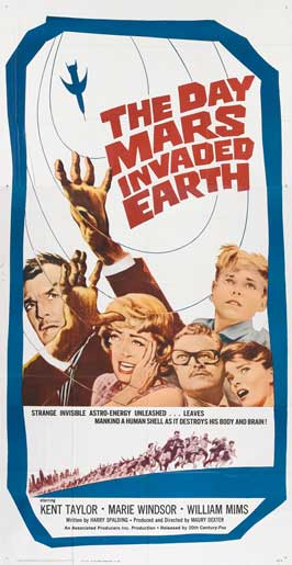 The Day Mars Invaded Earth - 11 x 17 Movie Poster - Style B