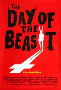 The Day of the Beast - 27 x 40 Movie Poster - Style A
