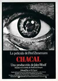 The Day of the Jackal - 27 x 40 Movie Poster - Spanish Style A