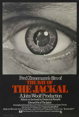 The Day of the Jackal - 27 x 40 Movie Poster - UK Style A