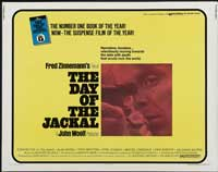The Day of the Jackal - 22 x 28 Movie Poster - Half Sheet Style A
