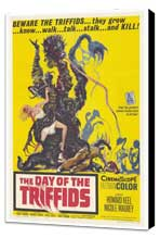 The Day of the Triffids - 27 x 40 Movie Poster - Style A - Museum Wrapped Canvas