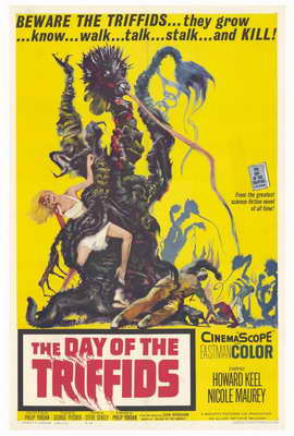 The Day of the Triffids - 27 x 40 Movie Poster - Style A