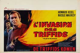 The Day of the Triffids - 27 x 40 Movie Poster - Belgian Style A