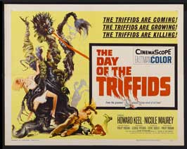 The Day of the Triffids - 22 x 28 Movie Poster - Half Sheet Style B
