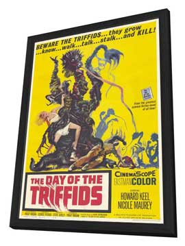 The Day of the Triffids - 11 x 17 Movie Poster - Style A - in Deluxe Wood Frame