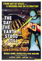 The Day the Earth Stood Still - 11 x 17 Movie Poster - Australian Style A