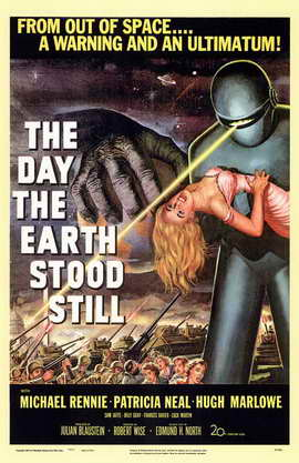The Day the Earth Stood Still - 11 x 17 Movie Poster - Style A