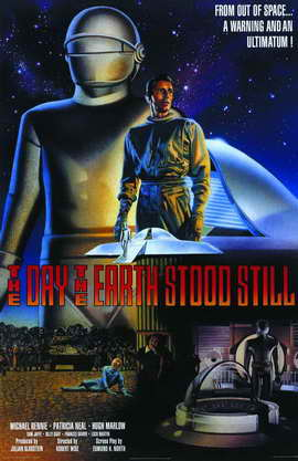 The Day the Earth Stood Still - 11 x 17 Movie Poster - Style C