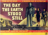 The Day the Earth Stood Still - 11 x 17 Movie Poster - Style E