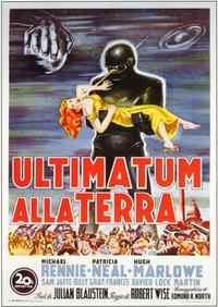 The Day the Earth Stood Still - 11 x 17 Movie Poster - Italian Style A