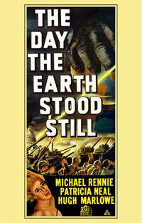 The Day the Earth Stood Still - 11 x 17 Movie Poster - Style F