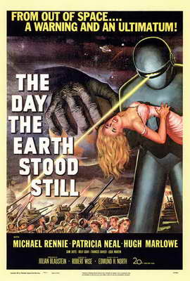The Day the Earth Stood Still - 27 x 40 Movie Poster