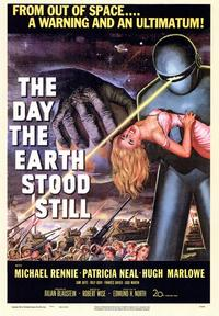 The Day the Earth Stood Still - 43 x 62 Movie Poster - Bus Shelter Style A