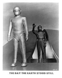 The Day the Earth Stood Still - 8 x 10 B&W Photo #1