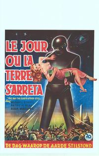 The Day the Earth Stood Still - 11 x 17 Movie Poster - Belgian Style A