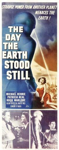 The Day the Earth Stood Still - 14 x 36 Movie Poster - Insert Style A