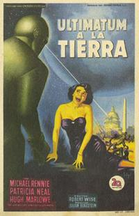 The Day the Earth Stood Still - 11 x 17 Movie Poster - Italian Style B