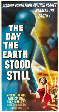 The Day the Earth Stood Still - 20 x 40 Movie Poster - Australian Style A