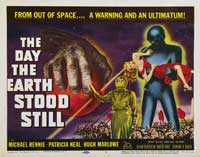 The Day the Earth Stood Still - 30 x 40 Movie Poster UK - Style A