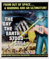 The Day the Earth Stood Still - 40 x 40 - Movie Poster - Style A