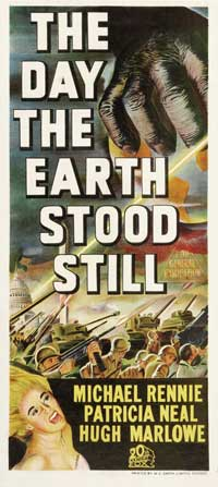 The Day the Earth Stood Still - 13 x 30 Movie Poster - Australian Style A