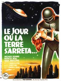 The Day the Earth Stood Still - 11 x 14 Poster Italian Style A