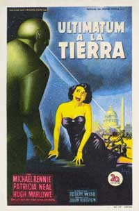The Day the Earth Stood Still - 11 x 17 Movie Poster - Spanish Style A