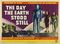 The Day the Earth Stood Still - 30 x 40 Movie Poster UK - Style B