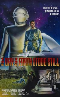 The Day the Earth Stood Still - 43 x 62 Movie Poster - Bus Shelter Style B