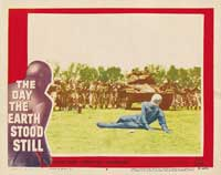 The Day the Earth Stood Still - 11 x 14 Movie Poster - Style D