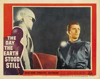 The Day the Earth Stood Still - 11 x 14 Movie Poster - Style E