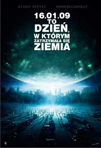 The Day the Earth Stood Still - 27 x 40 Movie Poster - Polish Style A