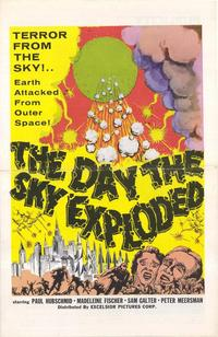 The Day the Sky Exploded - 11 x 14 Movie Poster - Style A
