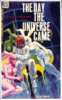 The Day the Universe Came - 11 x 17 Retro Book Cover Poster