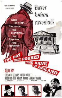 Day They Robbed the Bank of England - 11 x 17 Movie Poster - Style A