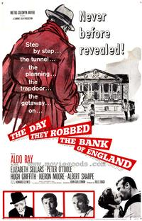 Day They Robbed the Bank of England - 43 x 62 Movie Poster - Bus Shelter Style A