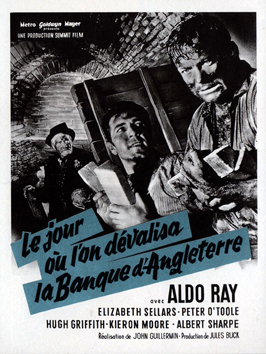 Day They Robbed the Bank of England - 11 x 17 Movie Poster - French Style A