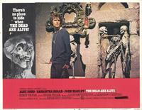 The Dead Are Alive - 11 x 14 Movie Poster - Style D