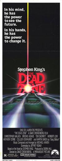 The Dead Zone - 14 x 36 Movie Poster - Insert Style A