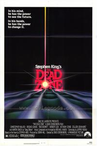 The Dead Zone - 43 x 62 Movie Poster - Bus Shelter Style A