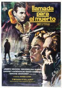 The Deadly Affair - 43 x 62 Movie Poster - Spanish Style A