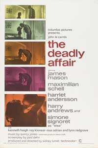 The Deadly Affair - 27 x 40 Movie Poster - Style A