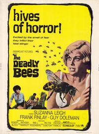 The Deadly Bees - 11 x 17 Movie Poster - Style B