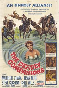 The Deadly Companions - 27 x 40 Movie Poster - Style A