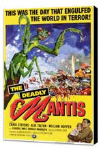 The Deadly Mantis - 11 x 17 Movie Poster - Style A - Museum Wrapped Canvas