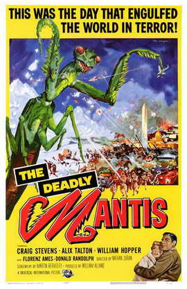 The Deadly Mantis - 11 x 17 Movie Poster - Style A