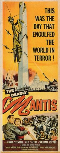 The Deadly Mantis - 11 x 17 Movie Poster - Style B